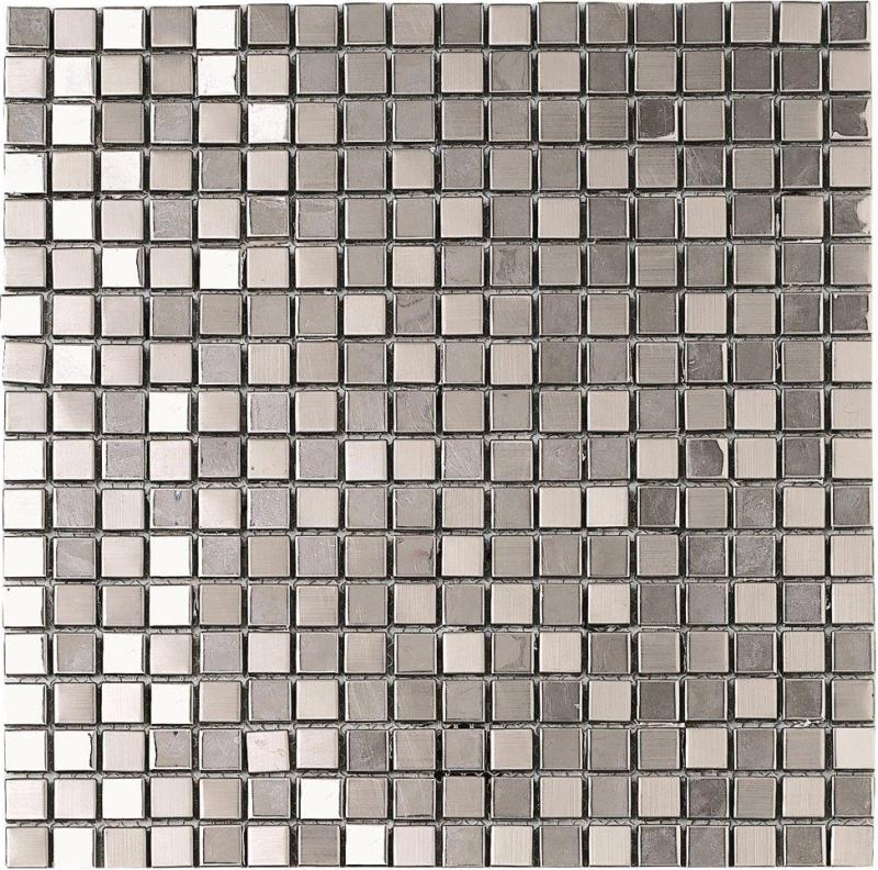 Mosaic-Metallico-Silver
