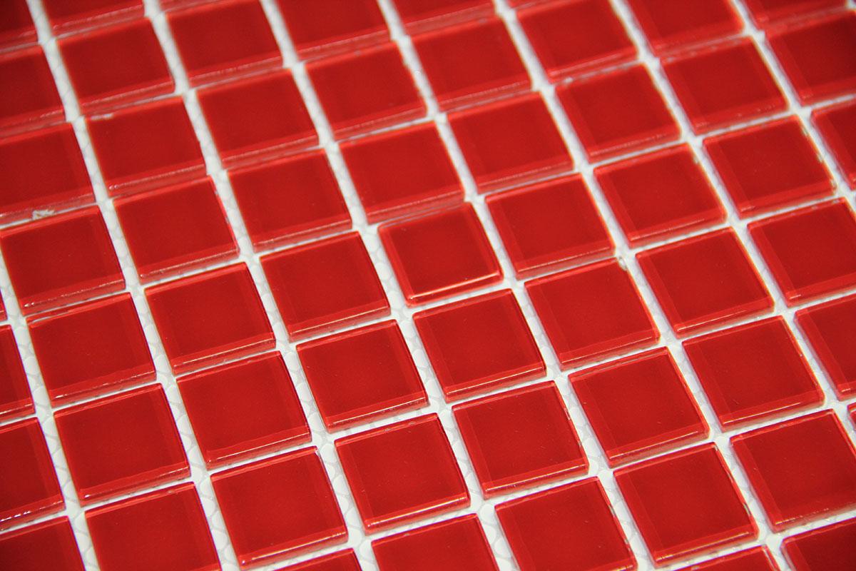Mosaic-Monokolor-Red